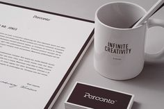 PERCONTE - Stationery by Perconte , via Behance