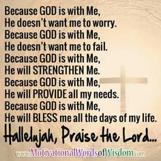 Glory HALLELUYAH;