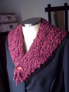 Gola de Tricô #infinityscarf #gola #tricot #crochet #fashionwinter