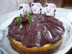Brownie cheesecake   Recetas  