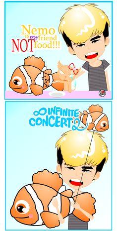 Hoya #INFINITE the Summer 2 Concert   fanART