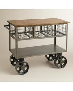 World Market Bryant Mobile Kitchen Cart - World Market from Cost Plus World Market | BHG.com Shop