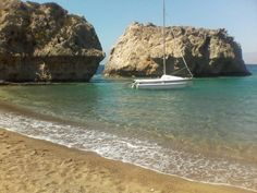 Beach of Milokopi,Loutraki,Greece!