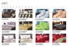 Ekskluzywna pościel satynowa Valentini Bianco (160x200 + 2x 70x80 cm oraz 220x200 + 2x 70x80 cm) - zestaw wzorów.