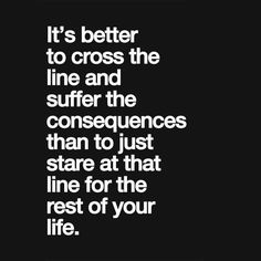 Consider it crossed