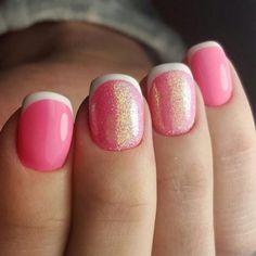 Nail Art For Short Nails Pink French