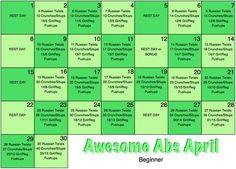 April Abs Workout