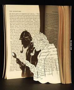 Epic Sherlock Holmes Paper Art