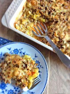 Ina Is(s)t: Kartoffel-Karottenauflauf mit Hackfleischtopping