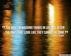 Arnold Palmer graduation quote