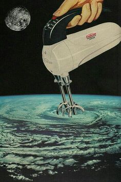 Collage artist Joe Webb creates the collage images by hand. No photoshop was used in the making of these pieces. Collage Kunst, Art Du Collage, Collage Artists, Surreal Collage, Art Collages, Surreal Artwork, Collage Illustrations, Food Collage, Nature Collage