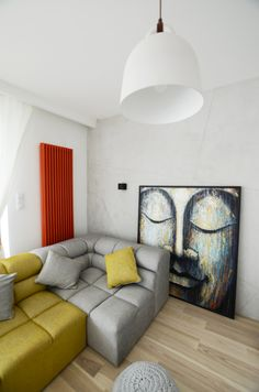 Mieszkanie projektu Devangari Design - PLN Design