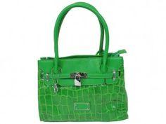 Bulaggi Mini Kelly Bag Croco Groen