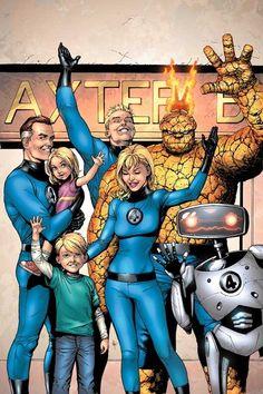 """houseofcomics1: """"Fantastic Four by Gary Frank """""""