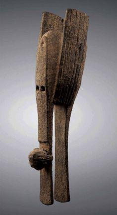 Africa   Bamana kono mask, Warakun.  Mali   Wood   19th century