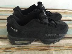 newest b8ab5 ef8f9 Nike air max all black running shoes