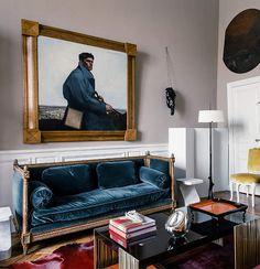 L appartement d'Herve Van der Straeten sur l Ile Saint Louis 4