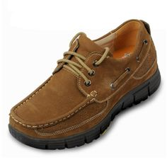 Dark khaki  tall men shoe 7cm / 2.75inch with the SKU:MENXJD_1870-5 - high height increasing sneakers shoes for men hiking sports elevator shoes to make you taller 7cm / 2.75inches