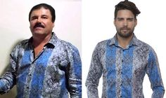 THE silk shirts Mexican drug lord Joaquin 'El Chapo' Guzman wore for his chat with Sean Penn were becoming a must-have today in another surreal twist to the fallout from his arrest.