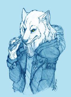 Sir Wolf ( Vex ) by alicatcatcat.deviantart.com on @DeviantArt