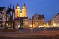 Allemagne Monuments commémoratifs de Luther à Eisleben et Wittenberg