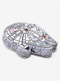 Drift off to sleep in 12 parsecs   Star Wars Millennium Falcon Pillow