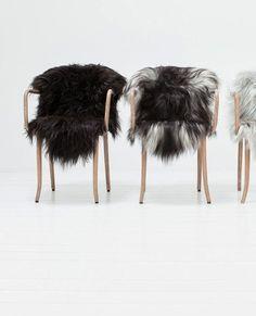 Furry chairs