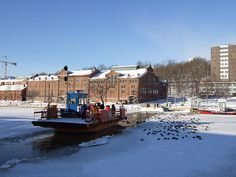 Turku Ferry Winter - Turku Picture Gallery - Photo Gallery - Images