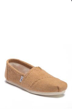 70173da2ef289 TOMS - Toffee Faux Fur Classic Alpargata Slip-On Sneaker is now 33% off