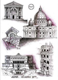 Renaissance Architecture by dedeyutza.deviantart.com on @deviantART