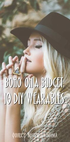 Boho on a Budget: 10 DIY Wearables {DIY Bohemian Clothing}