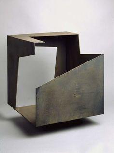 Jorge oteiza, Metaphysical Box, steel,1958