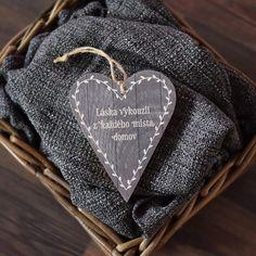 Dřevěné srdce Láska vykouzlí | Bonami