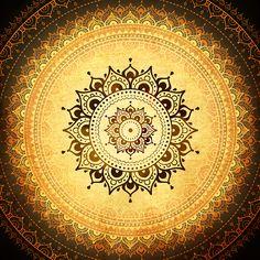 Mandala. Decorative pattern. Indian style.Painting for interiors Ayurvedic clinic.