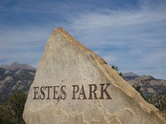 Welcome to Estes Park. I love Estes Park! Estes Park Colorado, State Of Colorado, Colorado Homes, Denver Colorado, Great Place To Work, Great Places, Beautiful Places, Places To Visit, Sequoia National Park Camping