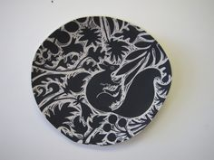 Fox Botanical wall hanging by Oxide Pottery in Lynchburg, Virginia www.oxidepottery.com