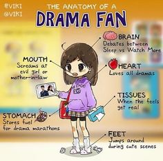 Drama fan-I'm gonna be like this soon