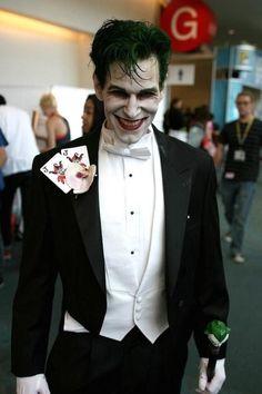 Prepare to scare in this Joker costume Halloween night.