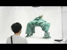 ▶ 「自由すぎてブリッジする篇」自由すぎる女神 メイキングムービー - YouTube