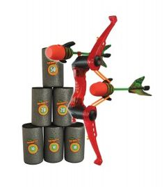Zing Air Hunterz Target FFP Pack: Perfect for little Katnisses and Robin Hoods.