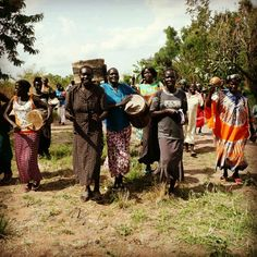 A scene from South Sudan