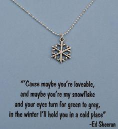 Perfect gift for that Ed Sheeran Fan!