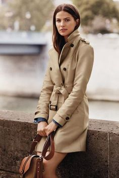Buy Navy Wool Trench Coat online today at Next: Slovakia | Fall ...