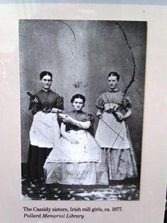 Irish Mill girls, 1877