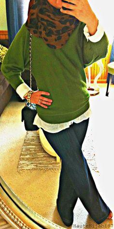 Leopard and Green, Hijabi