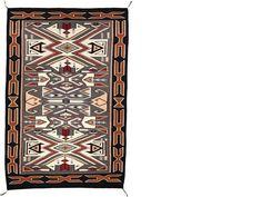 Navajo Rug : Teec Nos Pos, #195