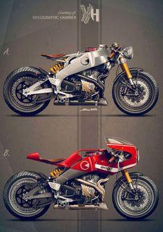 Ottonero Cafe Racer: BUELL Firebolt XB12r / HH-4H10