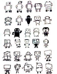 Sketchy Robots