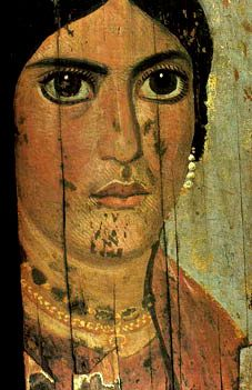 Mummy El Fayum100CE - 300CE Fayum / Romano-Egyptian / Roman / EncausticMore Pins Like This At FOSTERGINGER @ Pinterest