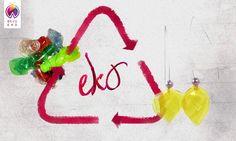 Kolczyki z butelek PET | http://dekoeko.com/product/kolczyki-ekologiczne-z-tworzywa-pet-otwarte-tulipany/ |  Kup na dekoeko.com